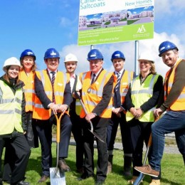 First sheltered housing project for hub South West