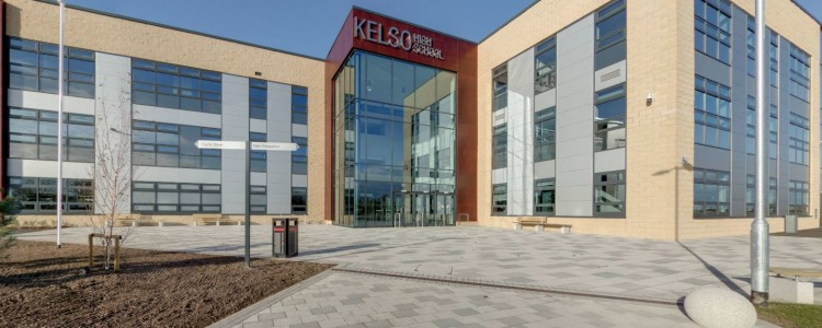 Pupils move into new £22.5m Kelso High School