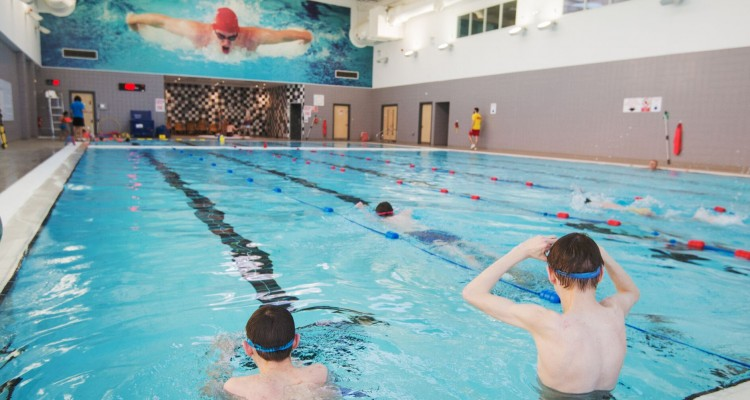Lasswade Centre, Midlothian - community swimming pool