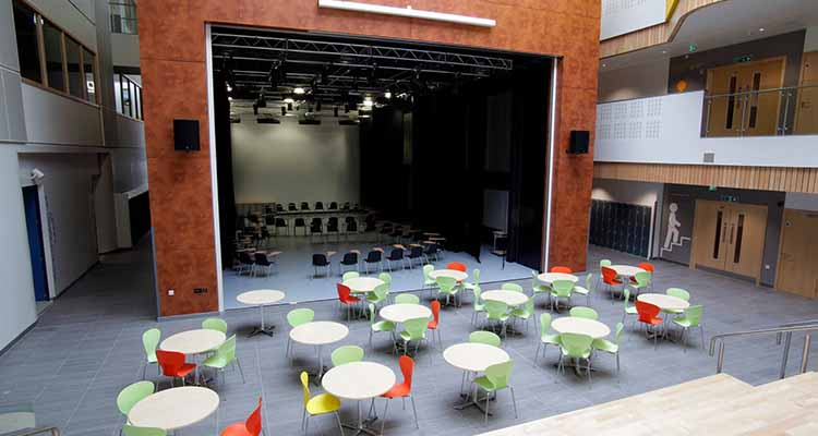 Eastwood High School - theatre