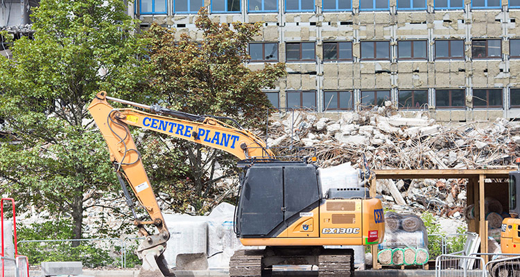 Demolition of Cowglen Hospital site to make way for homes