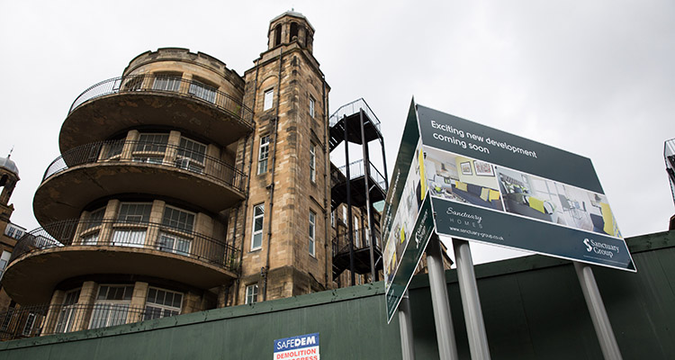 500 homes to be built on the old Glasgow Victoria Infirmary site